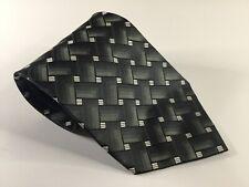 JF J. Ferrar Neck Tie New Necktie NWOT Silk Neckwear Green Black J.Ferrar