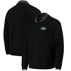 Tommy Bahama New York Jets Men's 2XL XXL NFL Swing Pass Shawl Sweater NWT $155