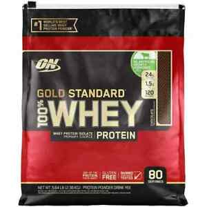 Optimum Nutrition Gold Standard 100% Whey Protein Powder, Chocolate - 5.64 lb