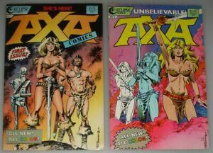 Axa # 01 02 / full set / Eclipse Comics / USA 1987
