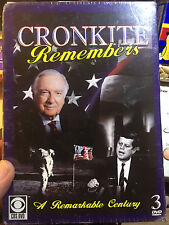 Walter Cronkite Remembers 2007 by CRONKITE,WALTER-new 3 dvd set
