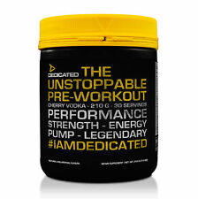 Dedicated Unstoppable V2 CHERRY Best Pre-Workout in World FREE TRACKED DELIVERY