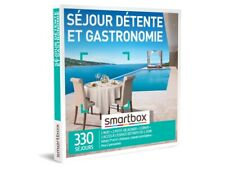 COFFRET SMARTBOX CHATEAUX /& GASTRONOMIE NEUF EMBALLE