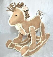 "Rocking Horse Sherpa 12"" Plush"
