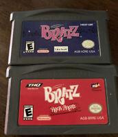 Lot Of 2 Nintendo Game Boy Advance GBA Games Bratz Games