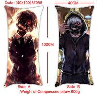 tokyo ghoul Anime Manga Kissen Sitzkissen 100x40cm Beidseitigen Neu