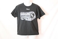 Men's Lee Sport White Sox Black/White Graphic Tee - Size M