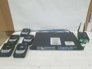 Clear-Com Tempest 2400 2.4GHz 4-CH Digital Wireless Intercom System w/5 Beltpack