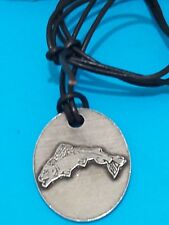 Game of Thrones House of Tully Crest Pendant with Leather Thong - Official