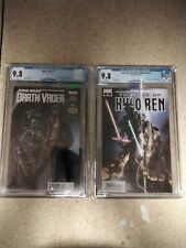STAR WARS DARTH VADER # 3  & Kylo Ren #3 CGC 9.8 1st DOCTOR APHRA & Avar Kriss