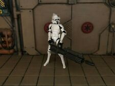 "LOOSE STAR WARS THE CLONE WARS ARF CLONE TROOPER ""WITH HEAVY BLASTER"""