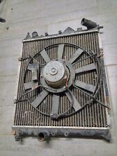gros radiateur d'eau avec gros ventilo renault clio 16s williams