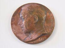 Medaille aus Bronze Paul Cogniaux 1902 1952 Belgien