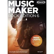 Magix Music Maker Rock Edition 6 Vollversion, 1 Lizenz Windows Musik-Software