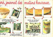 PUBLICITE ADVERTISING 124  1981  RICORE boisson   petit déjeuner  ( 2p)