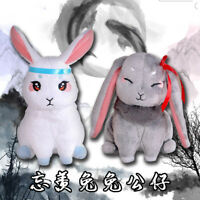 The Untamed MDZS Wei Ying Lan zhan two rabbit antique animation plush toy doll