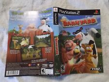 PLAYSTATION 2 INSERT BARNYARD
