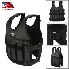Adjustable Workout Weight 110LB Weighted Vest Exercise Strength Training Fitness