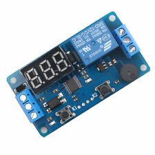 DC 12V LED Display Digital Delay Timer Relay Control Switch Module PLC Auto