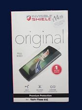 Invisible Shield Cuerpo Completo Y Premium screenprotection Original Para Iphone 4/4S - Nuevo
