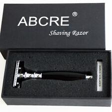 Double Edge 3 Parts Safety Razor DE Shaving Blades Beard Clean Remove Man Gift
