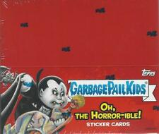 2018 GARBAGE PAIL KIDS S2 OH THE HORROR-IBLE 24 PK DISPLAY BOX SKETCH PLATE AUTO