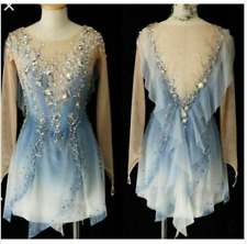 Elegance Ice Figure Skating Dress Baton Twirling Gymnastics Dress Dance xx921