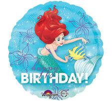 "Little Mermaid Disney ARIEL 17"" Mylar Balloon Birthday Party Decoration Supplies"