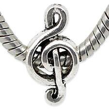 Modeschmuck-Charm (s) aus Metalllegierung mit Musik