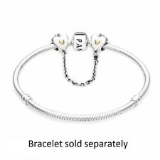 Pandora Heart & Crown Safety Chain, w/ Gift Box, Original, Brand New, #791878-05
