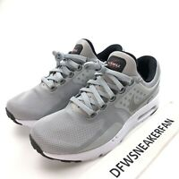 Nike Air Max Zero QS Silver Bullet Men's 7.5 Running Shoes 789695-002 New