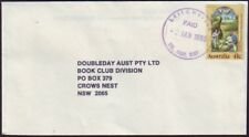 "VICTORIA POSTMARK ""LEITCHVILLE PAID"" CANCEL IN VIOLET ON 1990 COVER (WWW#210A)"