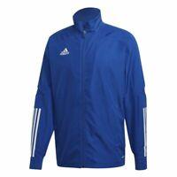 Adidas Fußball Condivo 20 Präsentationsjacke Jacke Herren Trainingsjacke blau we
