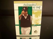 Rare Gary Player Upper Deck SP Authentic 2001 Card #129 Golf