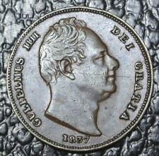 1837 GREAT BRITAIN - FARTHING - William IIII - Britanniar - Nice Coin
