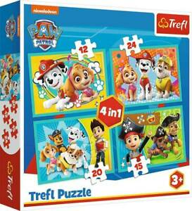 4 in 1 Puzzle – Paw Patrol