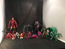 Marvel – Spiderman / Hulk / Iron Man / Magneto -19 Pieces Collectables Toys Set
