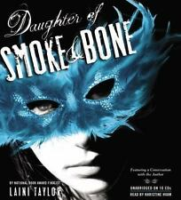 Daughter of Smoke and Bone by Laini Taylor (2011, CD, Unabridged)