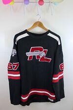 Vintage Polo Jeans Ralph Lauren Indian Head 67 Hockey Jersey Sweater L Crewneck