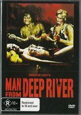 MAN FROM DEEP RIVER DVD =UMBERTO LENZI'S ORIGINAL=REGION 0=BRAND NEW AND SEALED