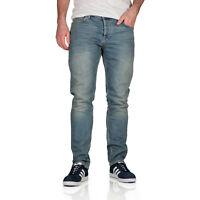 New Topman Mens Stretch Slim Fit Jeans Denim Light Wash Skinny Trousers Pants
