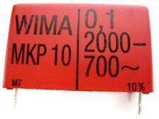 WIMA MKP10 Polypropylene Film Capacitor, 2000 VDC/700 VAC - NEW
