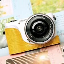 CIESTA Leather Camera Body Case [Yellow] CSJ-NEX3N-14 for Sony NEX-3N