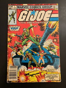 G.I. Joe #1 (1982): Newstand Edition. Marvel; Hama Loaded With First Appearances