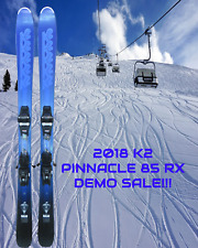 2018 K2 PINNACLE 85 RX DEMO SKIS 163 CM COMPLETE W/MARKER 10.0 DEMO BINDINGS