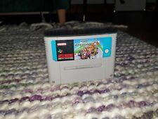 Super Mario Kart Super Nintendo SNES Cartridge PAL