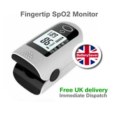 LCD Fingertip Pulse Oximeter SpO2 Blood Oxygen Saturation Monitor