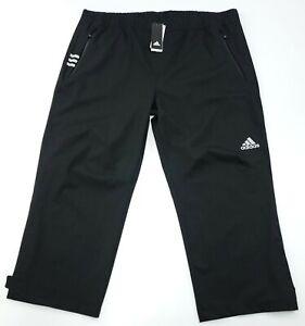 adidas Golf Men's 2XL - Short ClimaProof Waterproof Rain Golf Pants CY7441 NWT