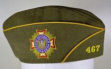 Vintage Veterans of Foreign Wars Garrison Cap, VFW Maryland Post 467 (6 7/8)
