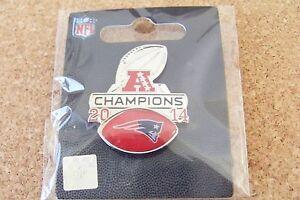 2014 AFC Conference Champions pin NE Patriots 2015 SB Super Bowl 49 XLIX